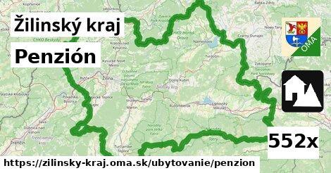 ilustračný obrázok k Penzión, Žilinský kraj