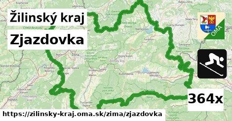 zjazdovka v Žilinský kraj