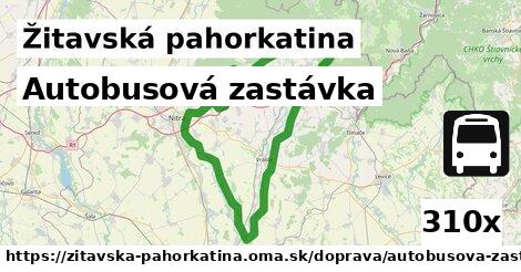 ilustračný obrázok k Autobusová zastávka, Žitavská pahorkatina