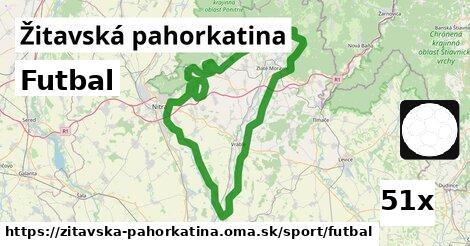 ilustračný obrázok k Futbal, Žitavská pahorkatina