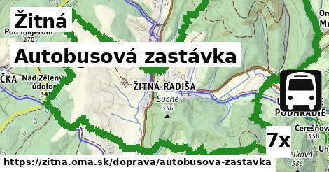 ilustračný obrázok k Autobusová zastávka, Žitná