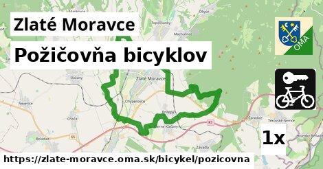 Požičovňa bicyklov, Zlaté Moravce