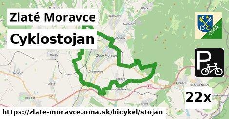 Cyklostojan, Zlaté Moravce