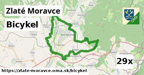bicykel v Zlaté Moravce
