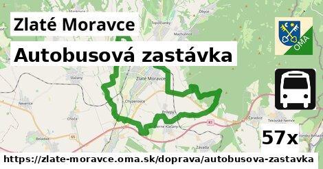 Autobusová zastávka, Zlaté Moravce