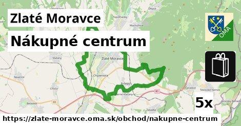 Nákupné centrum, Zlaté Moravce