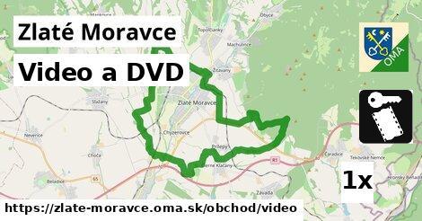Video a DVD, Zlaté Moravce