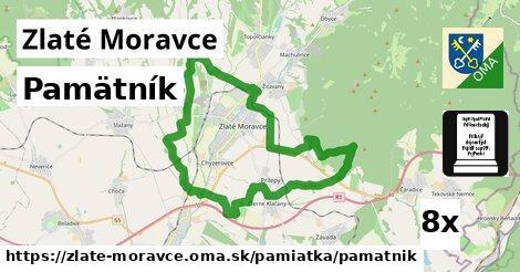 pamätník v Zlaté Moravce