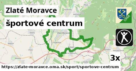 športové centrum, Zlaté Moravce
