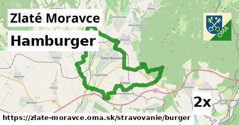 Hamburger, Zlaté Moravce