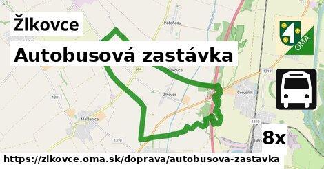 ilustračný obrázok k Autobusová zastávka, Žlkovce