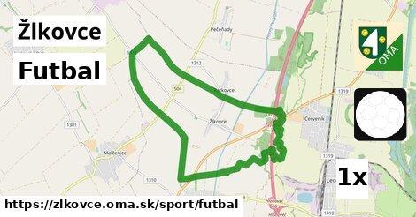 ilustračný obrázok k Futbal, Žlkovce