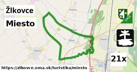 ilustračný obrázok k Miesto, Žlkovce