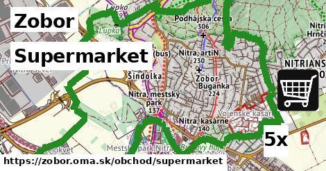 supermarket v Zobor