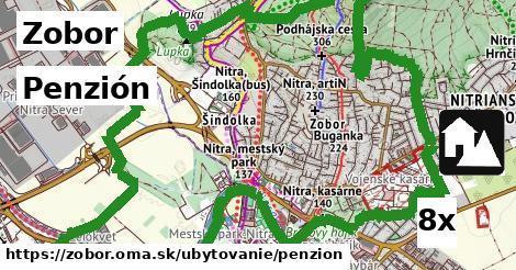 penzión v Zobor