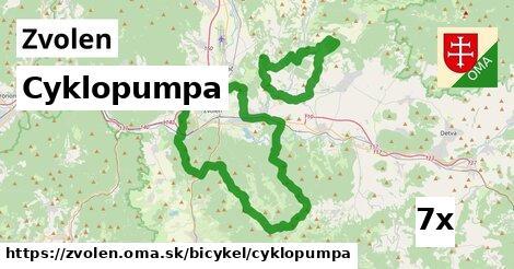 ilustračný obrázok k Cyklopumpa, Zvolen