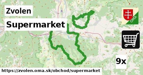 ilustračný obrázok k Supermarket, Zvolen