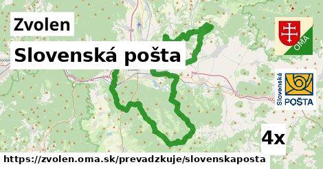 Slovenská pošta, Zvolen