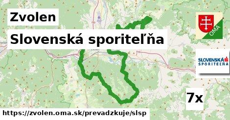 Slovenská sporiteľňa, Zvolen