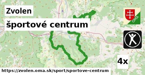 športové centrum, Zvolen