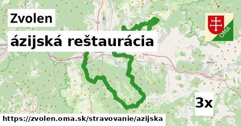ázijská reštaurácia, Zvolen