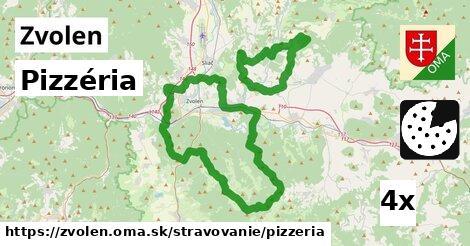 Pizzéria, Zvolen