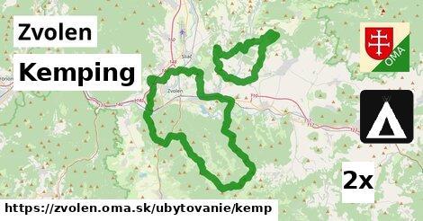 Kemping, Zvolen