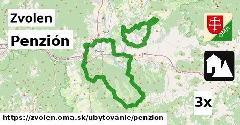 Penzión, Zvolen