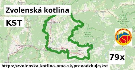 ilustračný obrázok k KST, Zvolenská kotlina