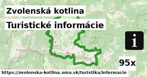 ilustračný obrázok k Turistické informácie, Zvolenská kotlina