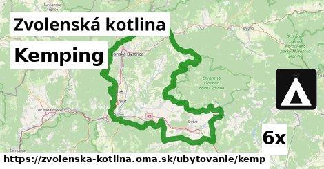 ilustračný obrázok k Kemping, Zvolenská kotlina