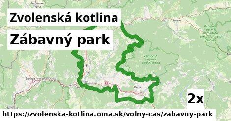 ilustračný obrázok k Zábavný park, Zvolenská kotlina