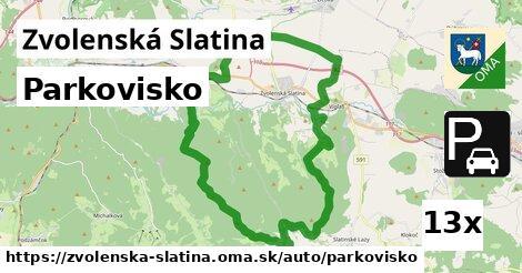 ilustračný obrázok k Parkovisko, Zvolenská Slatina