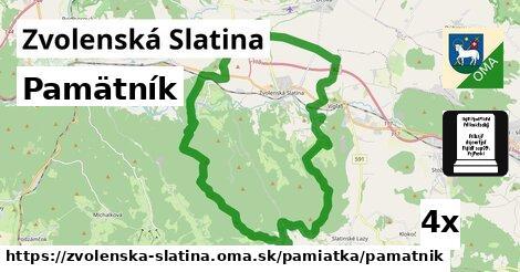 ilustračný obrázok k Pamätník, Zvolenská Slatina