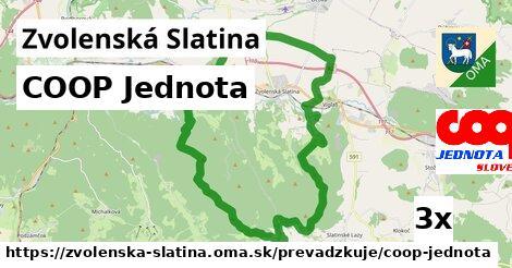 ilustračný obrázok k COOP Jednota, Zvolenská Slatina