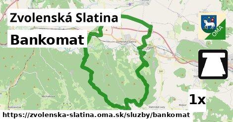 ilustračný obrázok k Bankomat, Zvolenská Slatina