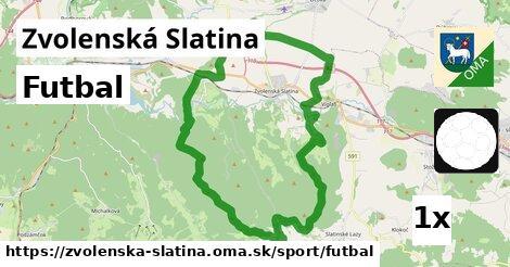 ilustračný obrázok k Futbal, Zvolenská Slatina