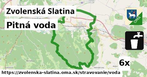 ilustračný obrázok k Pitná voda, Zvolenská Slatina