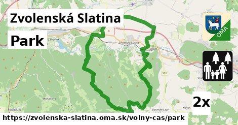 ilustračný obrázok k Park, Zvolenská Slatina