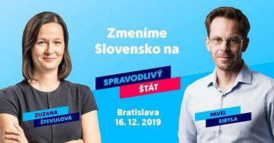 Chceme spravodlivý štát • Bratislava