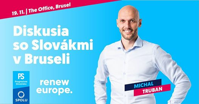 Truban soSlovákmi vBruseli