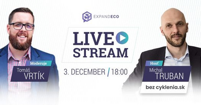 Expandeco livestream: Michal Truban (bezcyklenia.sk)