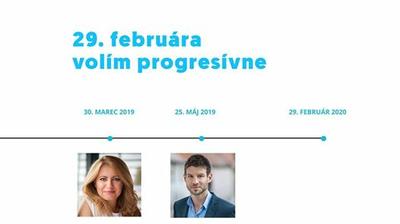 29. februára volím progresívne