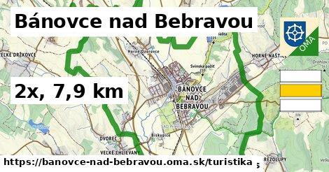 Bánovce nad Bebravou Turistické trasy