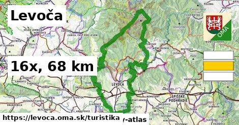 Levoča Turistické trasy