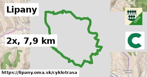 Lipany Cyklotrasy