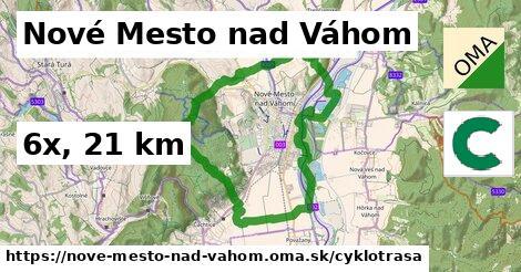 Nové Mesto nad Váhom Cyklotrasy
