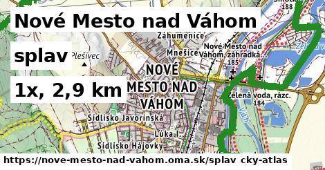 Nové Mesto nad Váhom Splav
