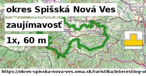 okres Spišská Nová Ves Turistické trasy zaujímavosť