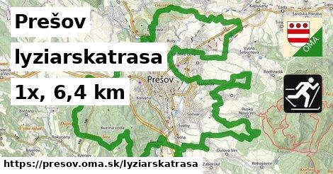 Prešov Lyžiarske trasy
